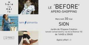 """Le """"Before"""" : apéro-shopping de """"Where is Marlo"""", """"Tempimenta"""" et """"ERmanos"""" @ Espace Création"""